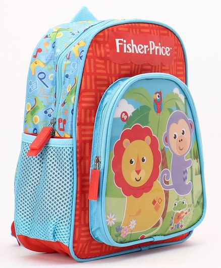 Fisher Price School Bag Orange - 12 Inches