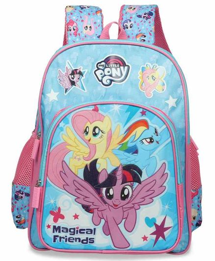 My Little Pony School Bag Blue - 14 Inches
