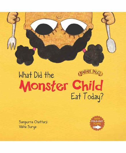 Karadi Tales What Did the Monster Child Eat Today Book - English