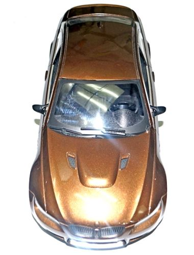 Adraxx Brown Remote Control Sports Car With Headlights Online