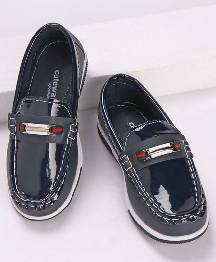 Cute Walk by Babyhug Formal & Party Wear Loafers - Blue