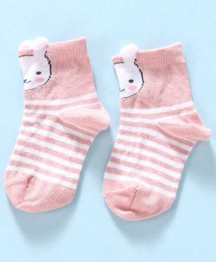 Mustang Socks Kitty Design - Pink