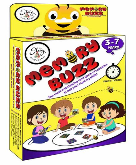 The Story Merchants Memory Buzz Card Game - 60 Cards