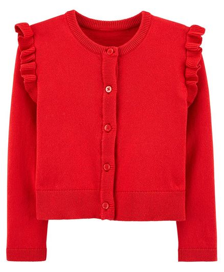 Carter's Cardigan - Red