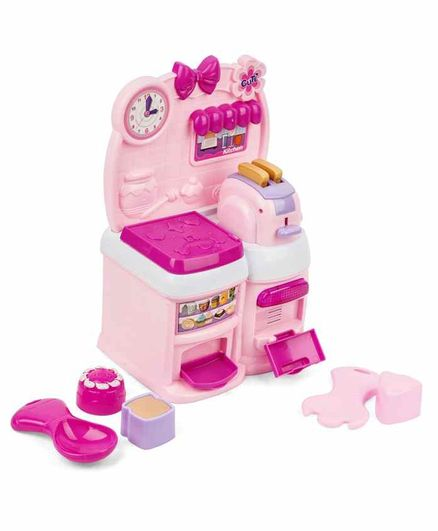 Playhood Kitchen Set with Lights & Music - Pink