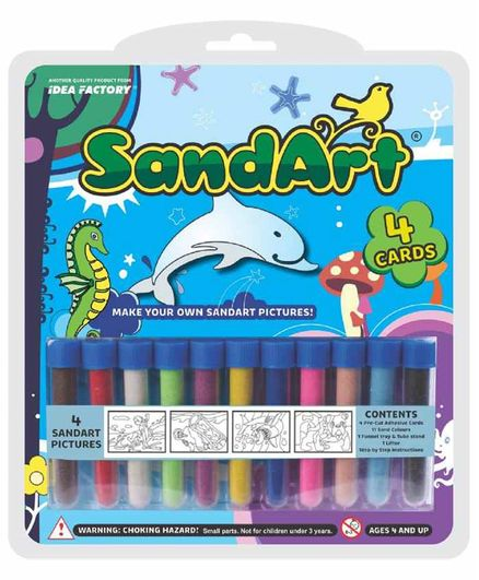 SandArt Starter Pack GP14 Kit - Multicolour
