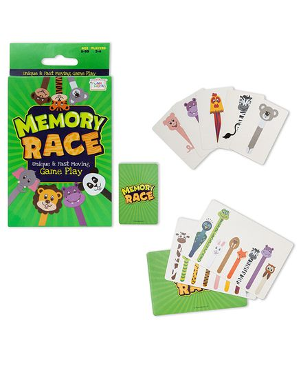 Trunk Works Memory Race Card Game - Multicolor