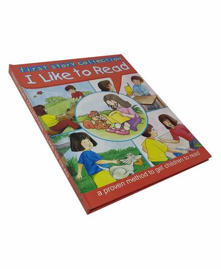 Sterling I Like To Read Story Book Red - English