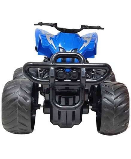 Sterling Friction Powered Toy ATV Bike - Blue Black