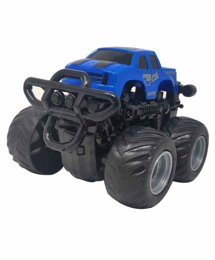 Sterling Friction Car Toy with 360 Degree Rotation - Blue