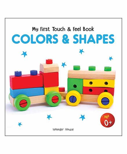 Wonder House Books Colors & Shapes Board Book - English
