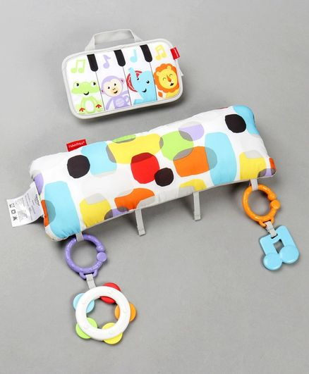 Fisher Price Mini Musicians Piano Wedge Toy with Light & Music - Multicolor