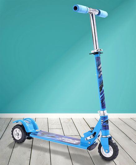 Three Wheel Kid's Scooter - Blue