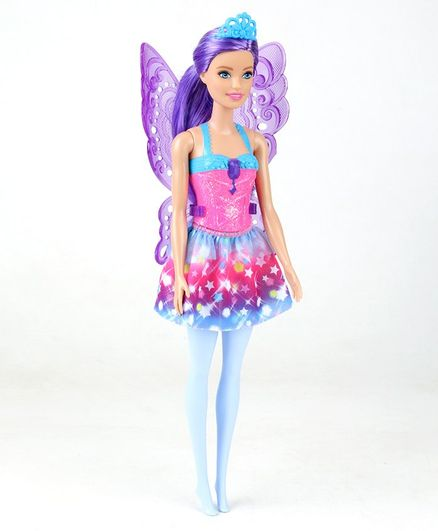 Barbie Core Dreamtopia Fairy Doll Multicolor - Height 29 cm