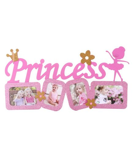 Wall Decor Sticker Princess Print - Pink