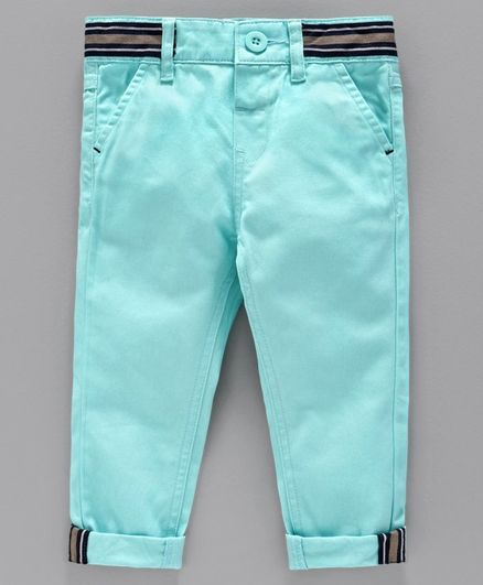 Babyoye Full Length Cotton Trouser - Teal