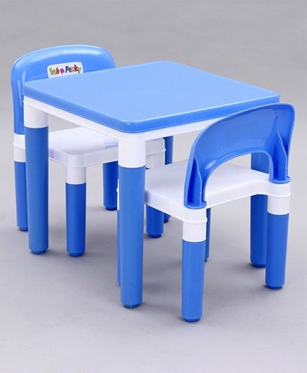 Detachable Table Chair Set - Blue