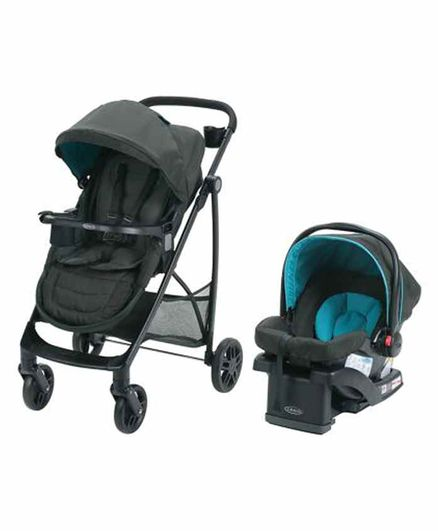 Graco Remix Reversible Travel System - Black Blue