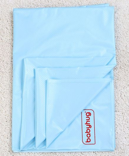 Babyhug Plastic Sheet XX Large Size - Blue