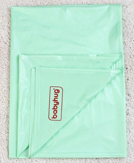 Babyhug Plastic Sheet XX Large Size  - Green