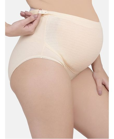 Mamma Presto High Rise Adjustable Briefs - Cream