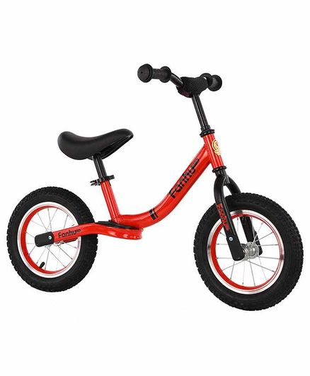 Syga Two Wheeled Balance Bike Red - 12 Inches