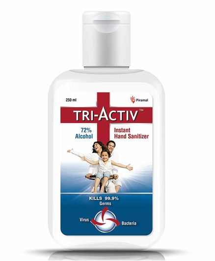 Tri-Activ Instant Alcohol Based Hand Sanitizer - 250 ml