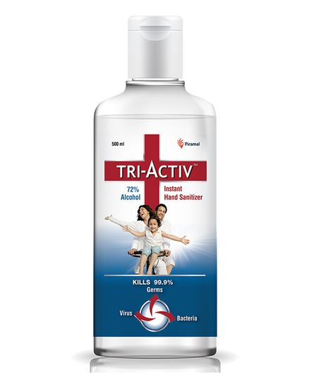 Tri-Activ Instant Alcohol Based Hand Sanitizer - 500 ml