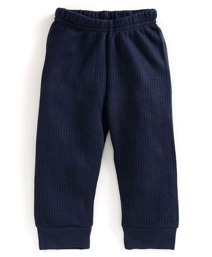 Babyoye Full Length Thermal Bottoms - Navy Blue