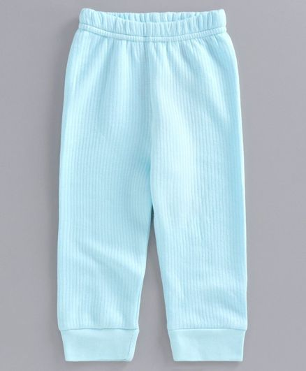 Babyoye Full Length Thermal Lounge Pant - Sky Blue