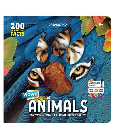 Dreamland Publications Animals Wow Encyclopedia in Augmented Reality - English