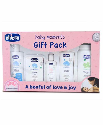 Chicco First Cuddle Baby Gift Set - Pink