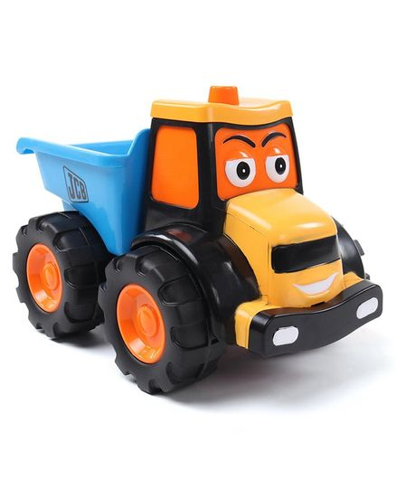 JCB Free Wheel Summertime Dexter Dump Truck with Tools - Multicolor