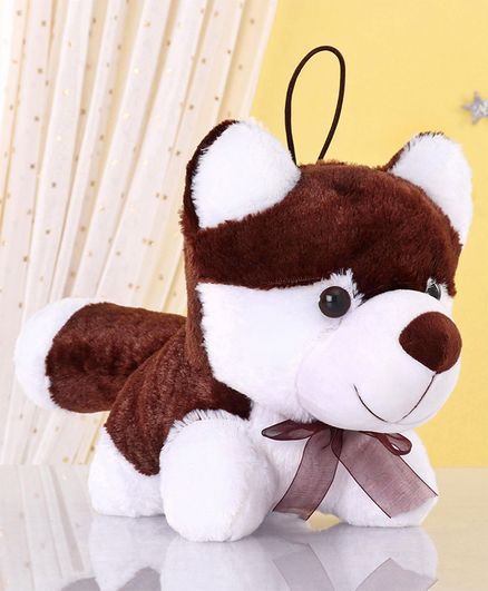 Zoe Fox Soft Toy Brown White - Height 25 cm
