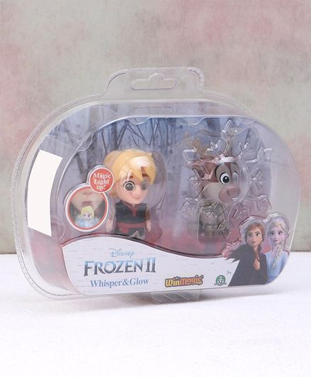 Disney Frozen Kristoff & Swen Minifigure Multicolor Pack of 2  - Height 6.5 cm