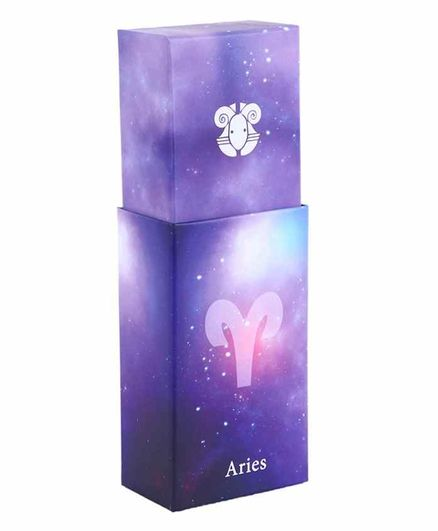 Passion Petals Multipurpose Aries Zodiac Sign Stationary Box - Multicolor