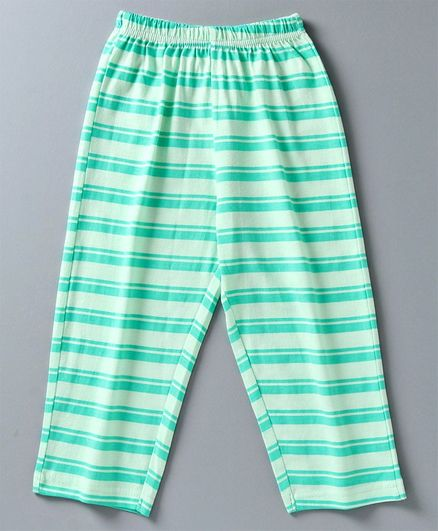 Taeko Full Length Stripe Pajama - Sea Green