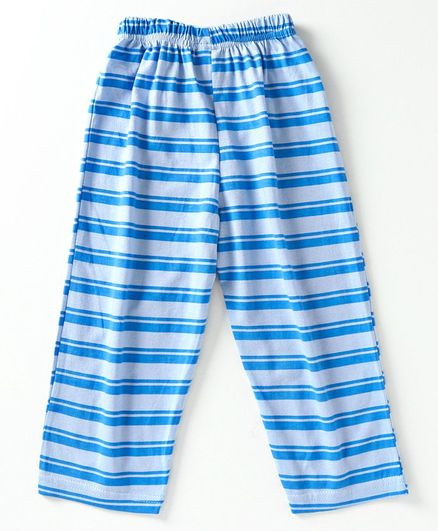 Taeko Full Length Stripe Pajama - Blue