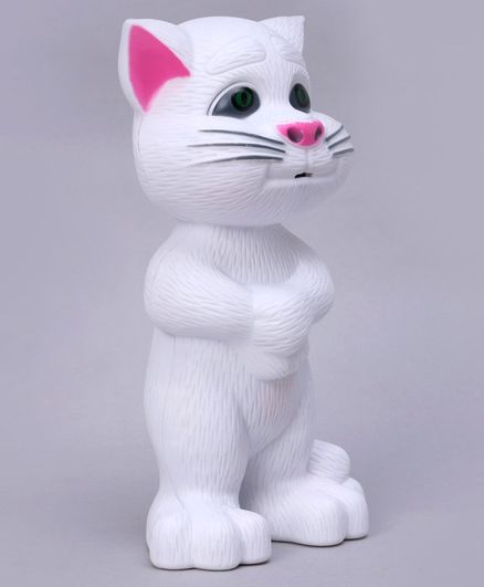 Rising Step Talking Tom with Self with Light & Music - White