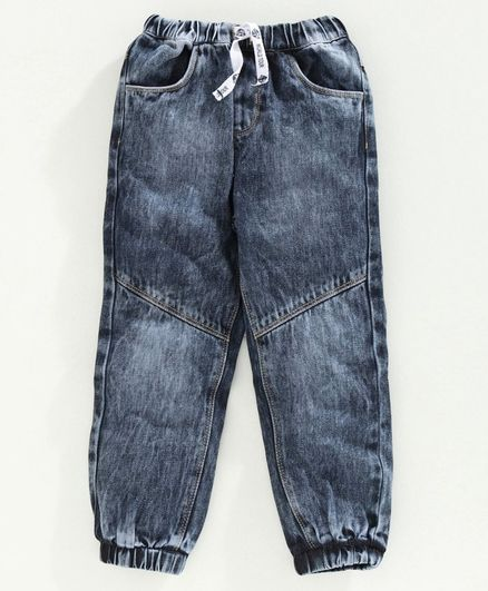 Babyoye Full Length Mid Wash Jeans - Blue