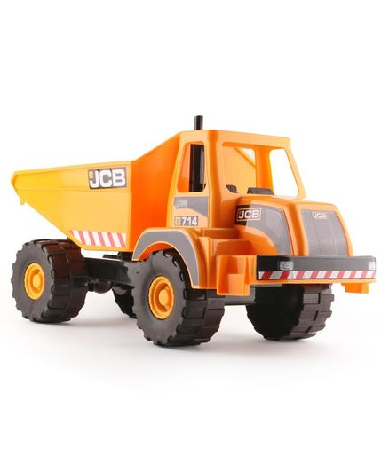 JCB Free Wheel Giant Dump Toy Truck - Yellow
