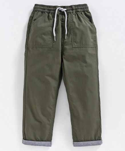 Babyoye Full Length  Trousers - Green