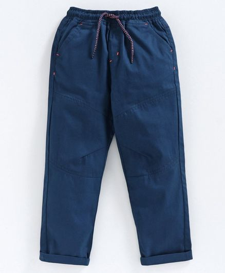 Babyoye Full Length  CottonTrousers - Blue