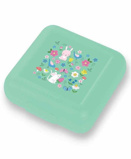 Crocodile Creek Reusable Backyard Friends Sandwich Keeper - Green