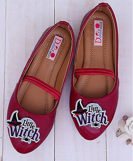 D'chica Witch Patchwork Bellies - Red