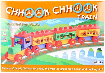 Fair Ind Chook Chook Train Set