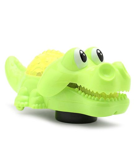 Battery Operated Crocodile Toy - Green