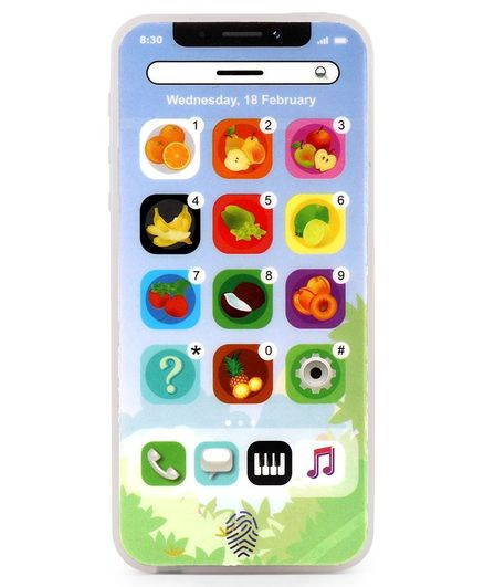 Multifunction Learning Toy Mobile -Blue
