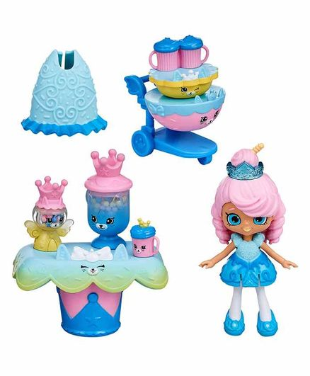 Shopkins Happy Places Sweet Kitty Candy Bar Welcome Pack - Blue
