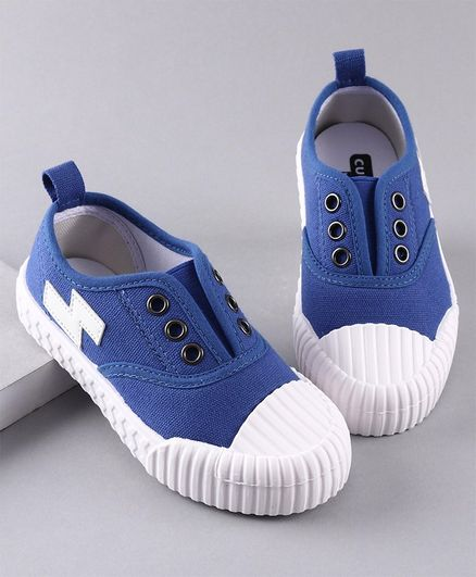 Cute Walk by Babyhug Canvas Casual Shoes - Blue